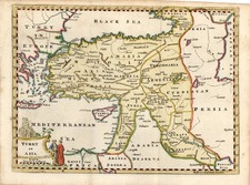 Europe, Mediterranean, Balearic Islands, Asia and Turkey & Asia Minor Map By Thomas Jefferys