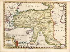 Europe, Mediterranean, Asia, Turkey & Asia Minor and Balearic Islands Map By Thomas Jefferys