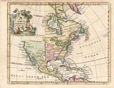 North America Map By Thomas Jefferys