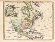 North America Map By Thomas Jefferys