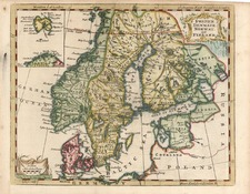 Europe and Scandinavia Map By Thomas Jefferys