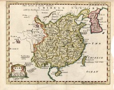 Asia, China, Korea and Central Asia & Caucasus Map By Thomas Jefferys