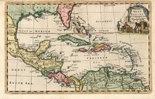 South, Southeast, Caribbean and Central America Map By Thomas Jefferys