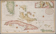 Southeast and Caribbean Map By Gerard Van Keulen
