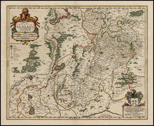 Europe and Poland Map By Henricus Hondius