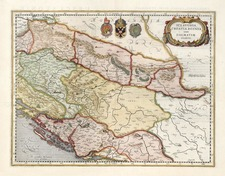 Europe and Balkans Map By Henricus Hondius - Gerard Mercator