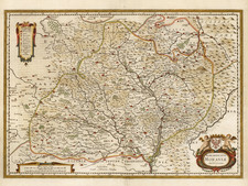 Europe and Czech Republic & Slovakia Map By Henricus Hondius