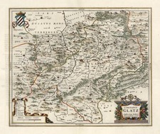Europe, Germany and Poland Map By Henricus Hondius