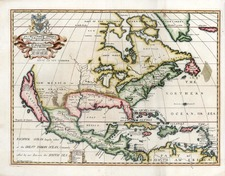 North America and California Map By Edward Wells