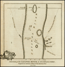 Southeast and North Carolina Map By Charles Stedman