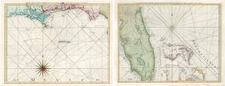 South, Southeast and Caribbean Map By Thomas Jefferys