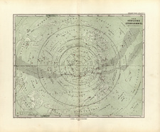 World, World and Celestial Maps Map By Adolf Stieler