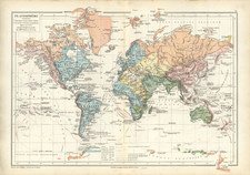 World and World Map By Drioux et Leroy