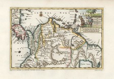 Central America and South America Map By Pieter van der Aa