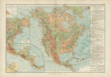 North America Map By Drioux et Leroy