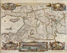 Europe, Balearic Islands, Asia, Holy Land and Turkey & Asia Minor Map By Claes Janszoon Visscher