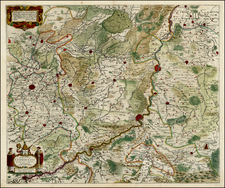 Map By Henricus Hondius