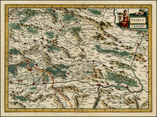 Austria and Balkans Map By  Gerard Mercator