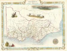 Australia & Oceania and Australia Map By John Tallis