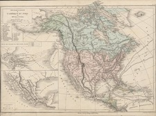 Mid-Atlantic, Southeast and North America Map By Drioux et Leroy