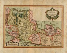 Europe and Italy Map By Matthaus Merian