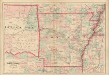 South and Plains Map By Asher  &  Adams