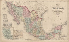 Southwest and Mexico Map By Charles Desilver