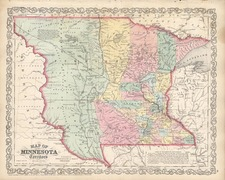 Midwest and Plains Map By Charles Desilver
