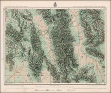California Map By George M. Wheeler