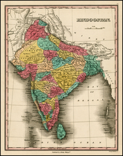 Asia and India Map By Anthony Finley