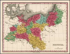 Europe, Germany, Poland and Balkans Map By Anthony Finley