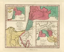 Asia, Central Asia & Caucasus and Middle East Map By Anthony Finley