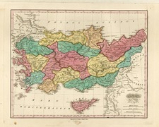 Europe, Balearic Islands, Asia and Turkey & Asia Minor Map By Anthony Finley