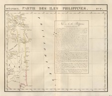Asia and Philippines Map By Philippe Marie Vandermaelen