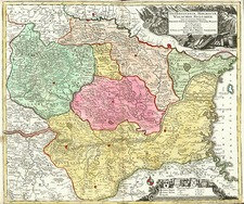 Europe, Romania and Balkans Map By Matthaus Seutter