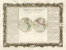World, World and Curiosities Map By Buy de Mornas