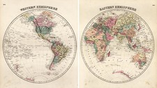 World and World Map By Samuel Morse