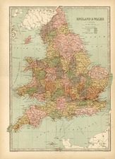 Europe and British Isles Map By T. Ellwood Zell