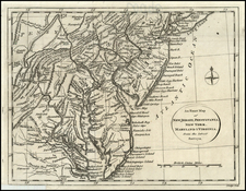 Mid-Atlantic and Southeast Map By John Lodge