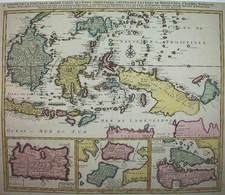 Southeast Asia Map By Jan Barend Elwe