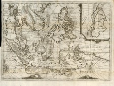 Asia, Southeast Asia, Australia & Oceania, Australia and Oceania Map By Réne Augustin Constantin De Renneville