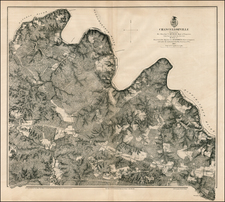 Southeast and Civil War Map By U.S. War Department