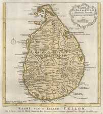 India and Other Islands Map By A. Krevelt