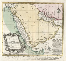 Middle East Map By J.V. Schley