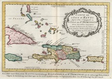 Caribbean Map By J.V. Schley
