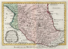 Mexico Map By A. Krevelt