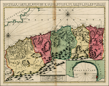 Spain and North Africa Map By Reiner & Joshua Ottens