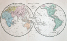 World, World and Celestial Maps Map By Alexandre Vuillemin