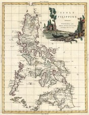 Philippines Map By Antonio Zatta