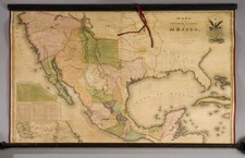 Texas, Southwest, Rocky Mountains and California Map By White, Gallaher & White